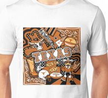 Texas Collage  Unisex T-Shirt