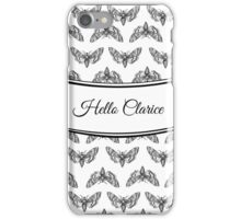 Hello Clarice | Silence of the Lambs iPhone Case/Skin