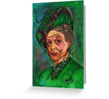 Dowager Countess Greeting Card