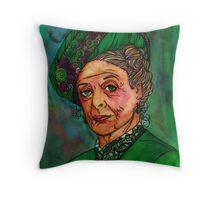 Dowager Countess Throw Pillow