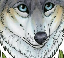 Nature Wolf Sticker