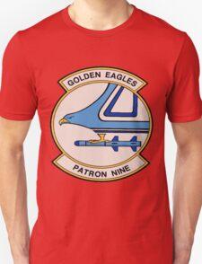 VP-9 Golden Eagles Crest Unisex T-Shirt