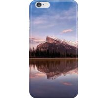 Mount Rundle Seen From Vermilion Lakes iPhone Case/Skin