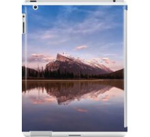 Mount Rundle Seen From Vermilion Lakes iPad Case/Skin