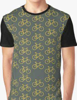 Yellow Bike Graphic T-Shirt