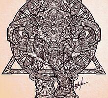 God elephant of dreams  by jmlfreeman