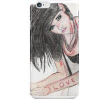 love in abstract iPhone Case/Skin