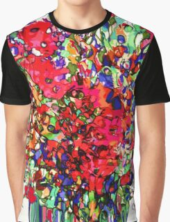 Springs Flowers Abstract Graphic T-Shirt
