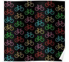 Colors Bike Poster