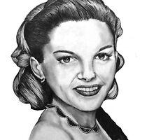 Judy Garland drawing by NicolaSpencer