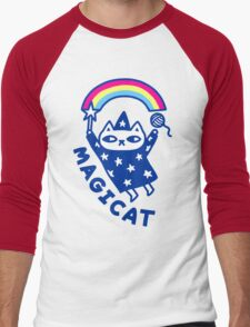 MAGICAT Men's Baseball ¾ T-Shirt