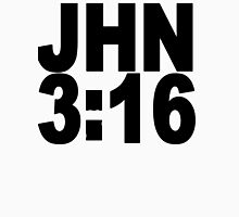 JHN 3:16  - BOLD TEXT Womens Fitted T-Shirt