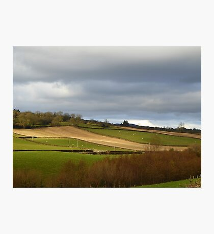 The Ploughed Fields Of Inch Island Photographic Print