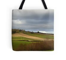 The Ploughed Fields Of Inch Island Tote Bag