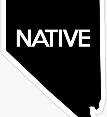 Nevada Native NV Sticker