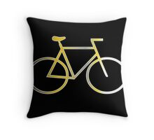 Colors Bike Throw Pillow