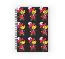Captain Hook Ditto  Spiral Notebook