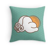 One Happy Cloud Throw Pillow