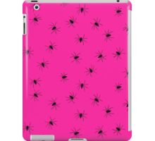 hot pink spider iPad Case/Skin