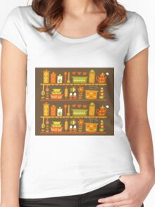 Lets Cook at Home Women's Fitted Scoop T-Shirt