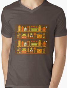 Lets Cook at Home Mens V-Neck T-Shirt
