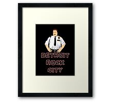 Cop Vector Framed Print