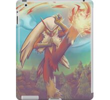 Blaze Kick_Painted iPad Case/Skin