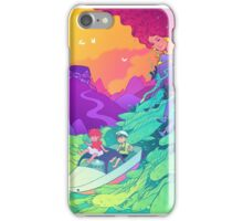 Ponyo on the cliff by the sea iPhone Case/Skin
