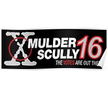 Mulder / Scully 2016 Poster