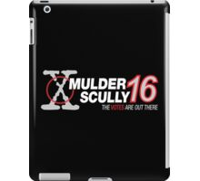 Mulder / Scully 2016 iPad Case/Skin