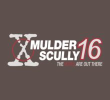 Mulder / Scully 2016 One Piece - Short Sleeve