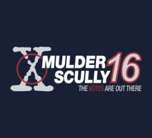 Mulder / Scully 2016 One Piece - Long Sleeve