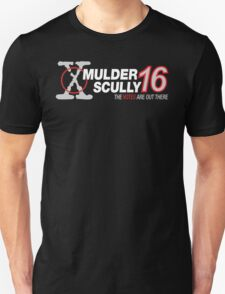 Mulder / Scully 2016 Unisex T-Shirt
