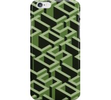 Lost Typographic Labyrinth iPhone Case/Skin
