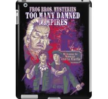 Frog Bros. Mysteries Parody iPad Case/Skin