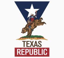 Texas Republic Rodeo One Piece - Short Sleeve