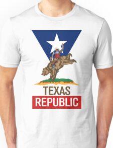 Texas Republic Rodeo Unisex T-Shirt