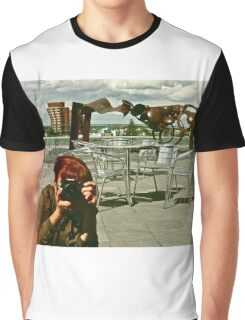 Rooftop Reflections Graphic T-Shirt