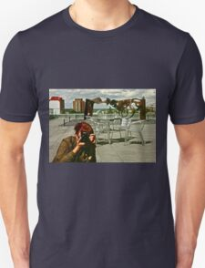 Rooftop Reflections Unisex T-Shirt