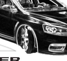 Mitsubishi Lancer Evolution X Sticker