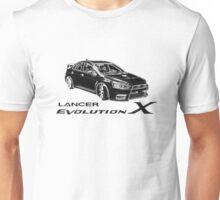 Mitsubishi Lancer Evolution X Unisex T-Shirt