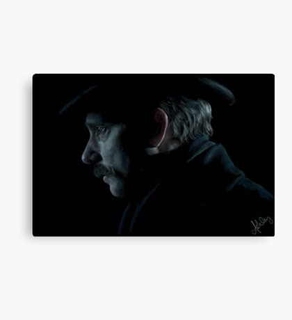 John Watson Portrait from The Abominable Bride Canvas Print