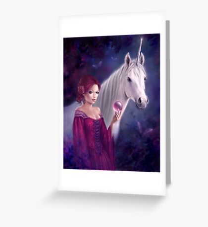 The Mystic Greeting Card
