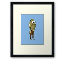 Fred The Fish - Spongebob Framed Print