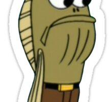 Fred The Fish: My Leg! - Spongebob Sticker