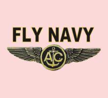 Naval Air Crew Wings One Piece - Long Sleeve