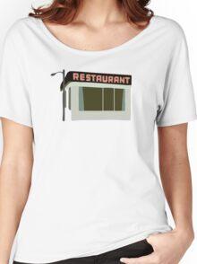 Seinfeld Restaurant Women's Relaxed Fit T-Shirt