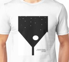 Oscar Wilde Literary Quote Unisex T-Shirt