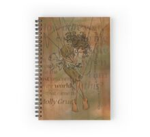 Molly Grue of The Last Unicorn Spiral Notebook