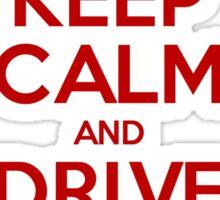 Keep Calm and drive a Kombi Sticker